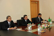 SCO's Secretary-General Rashid Alimov met with Foreign Minister of Turkmenistan Rashid Meredov