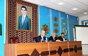 Secretary-General of the SCO Rashid Alimov visited the International Relations Institute of the Foreign Ministry of Turkmenistan