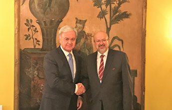 SCO Secretary General meets with OSCE Secretary General