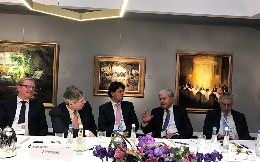 SCO Secretary General speaks at a round table discussion at the Munich Security Conference