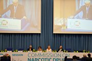 The opening of the 60th Session of the UN Commission on Narcotic Drugs (CND)