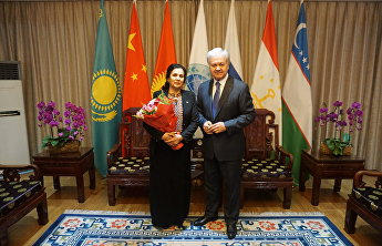 SCO Secretary-General meets Turkmenisan's Ambassador Extraordinary and Plenipotentiary to China