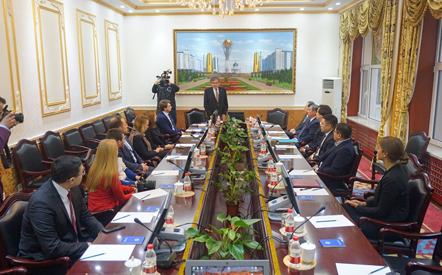 Meeting of the SCO Press Club