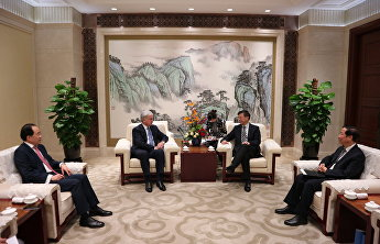 SCO Secretary-General met with Vice Mayor of Shanghai
