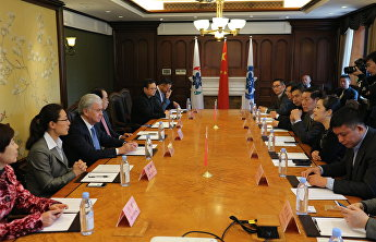 SCO Secretary-General met with representatives of the Shanghai business community