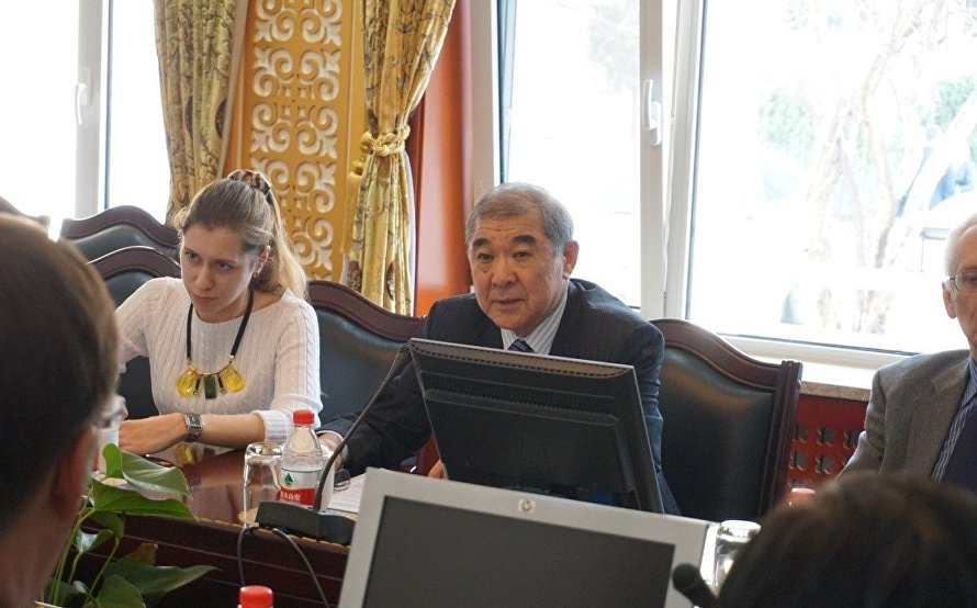 EU delegation visits the SCO Secretariat