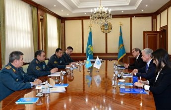 SCO Secretary-General meets with Kazakh Defence Minister