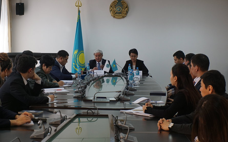 SCO Secretary-General speaks before the Academy of Public Administration under the President of Kazakhstan
