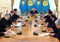 President of Kazakhstan receives participants of SCO National Security Council Secretaries Meeting