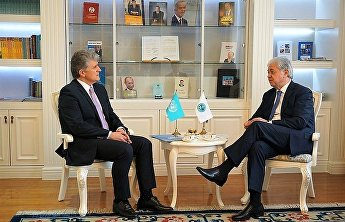 SCO Secretary-General receives the UN Assistant Secretary-General for Political Affairs