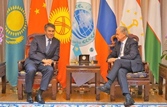 SCO Secretary-General Rashid Alimov met with Mayor of Astana