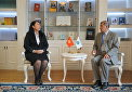 Top SCO Secretariat officials met with Kyrgyzstan's Ambassador