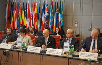 The OSCE Forum for Security Cooperation in Vienna