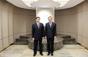 SCO Deputy Secretary-General met with Li Yuwei, Chief of the Transport Division of the ESCAP Secretariat