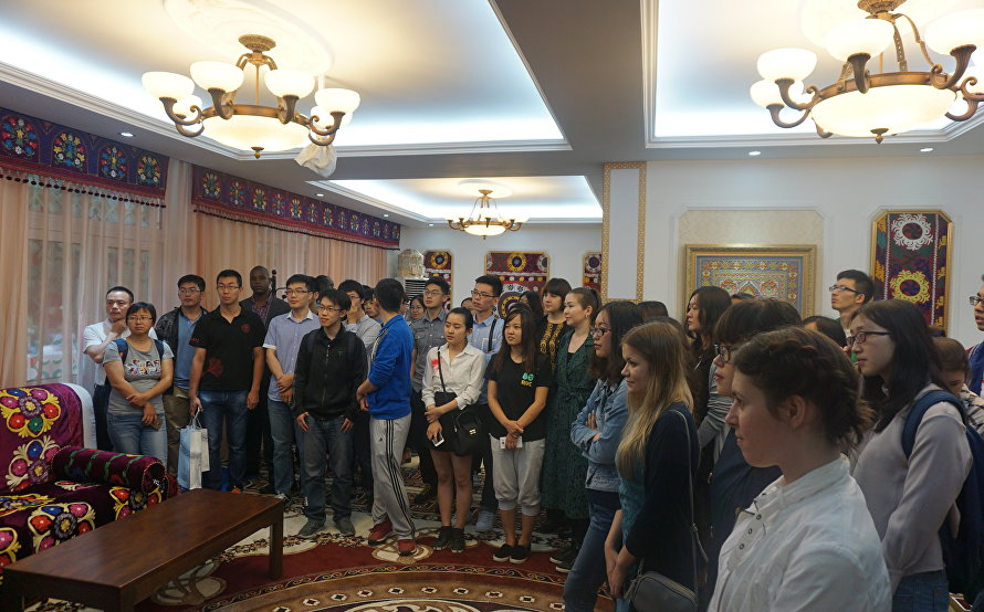 The open day of the SCO headquarters