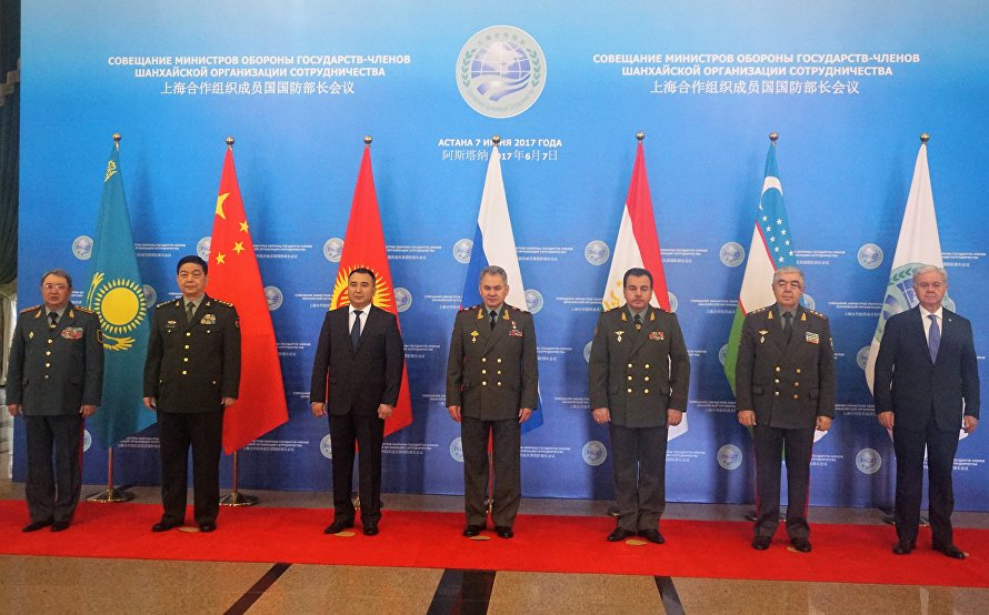 The meeting of the Defence ministers of the Shanghai Cooperation Organisation
