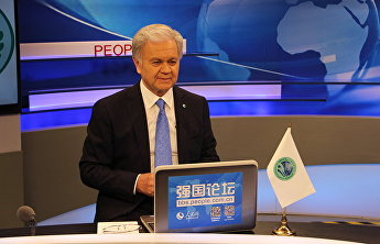 SCO Secretary-General Rashid Alimov gave an interview to the correspondent of the Renminwang