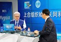 SCO Secretary General had an online chat with Xinhuanet.com visitors
