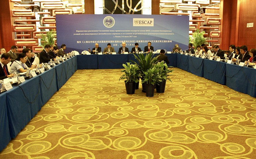 SCO-UNESCAP partnership elevated to entirely new level: Expanding international transportation cooperation