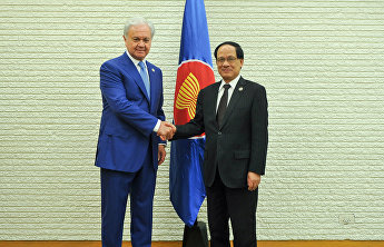 The official meeting between the SCO and ASEAN Secretaries-General