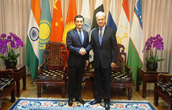 SCO Secretary-General meets with Ambassador of Uzbekistan to China