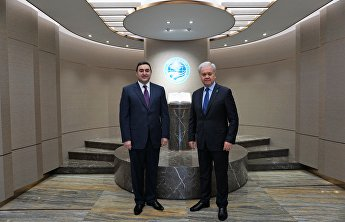 SCO Secretary-General held a meeting with Azerbaijani Ambassador to China