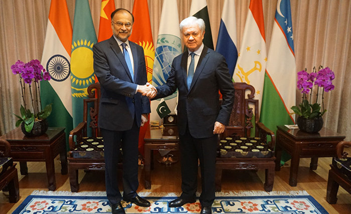 SCO Secretary-General meets with Pakistan's Interior Minister