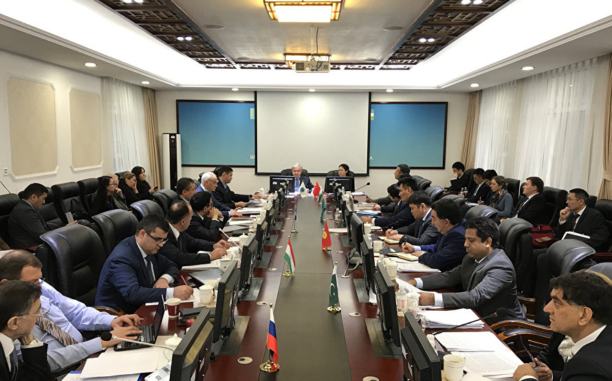 A meeting of the SCO Council of National Coordinators