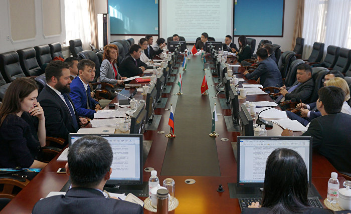 The meeting of the SCO Special Working Group on Electronic Trade