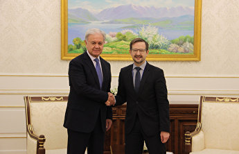 SCO and OSCE top officials meet in Samarkand