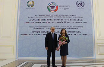 SCO Secretary-General congratulates Natalia Gherman on the anniversary of the UN Regional Centre for Preventive Diplomacy for Central Asia