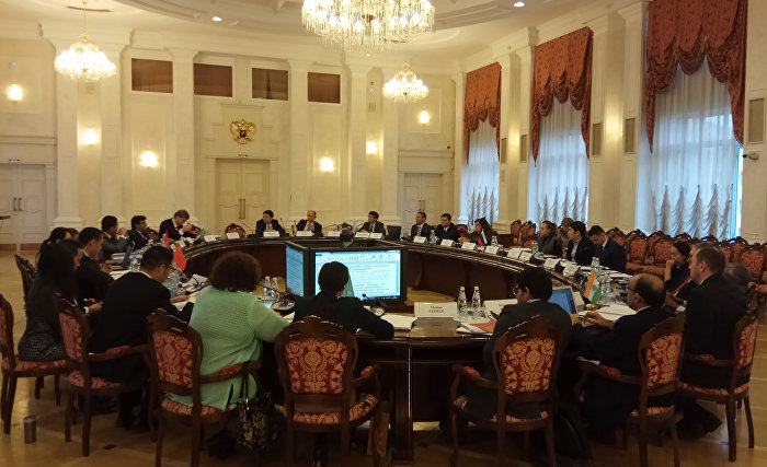 The meeting of the SCO Commission of Senior Officials in Charge of Trade and Economic Cooperation