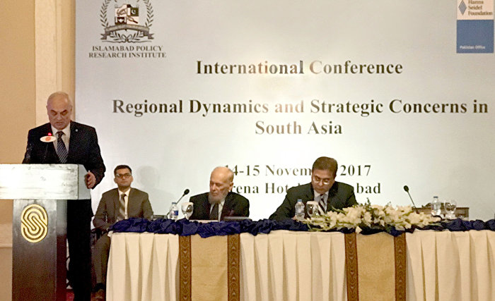 The International Conference on Regional Dynamics and Strategic Concerns in South Asia