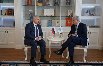 The meeting with Russia's Ambassador Extraordinary and Plenipotentiary to China Andrei Denisov
