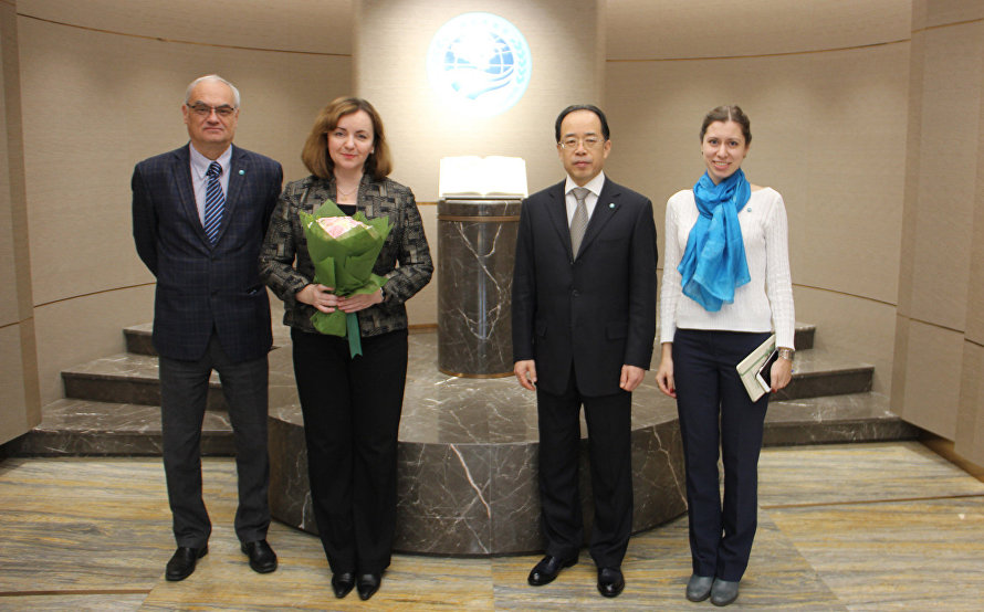 The meeting with Special Representative of UN Secretary-General and Head of the UN Regional Centre for Preventive Diplomacy for Central Asia Natalia Gherman