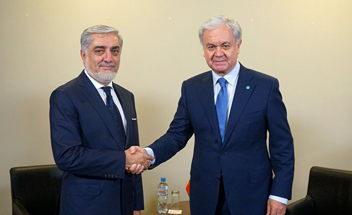The meeting with Chief Executive of the Islamic Republic of Afghanistan