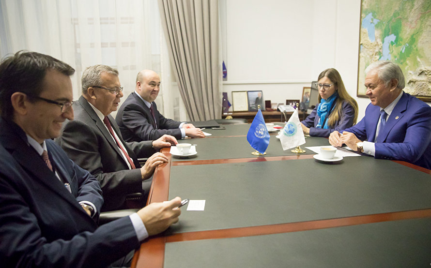 The meeting with UN Deputy Secretary-General and UNODC Executive Director Yury Fedotov