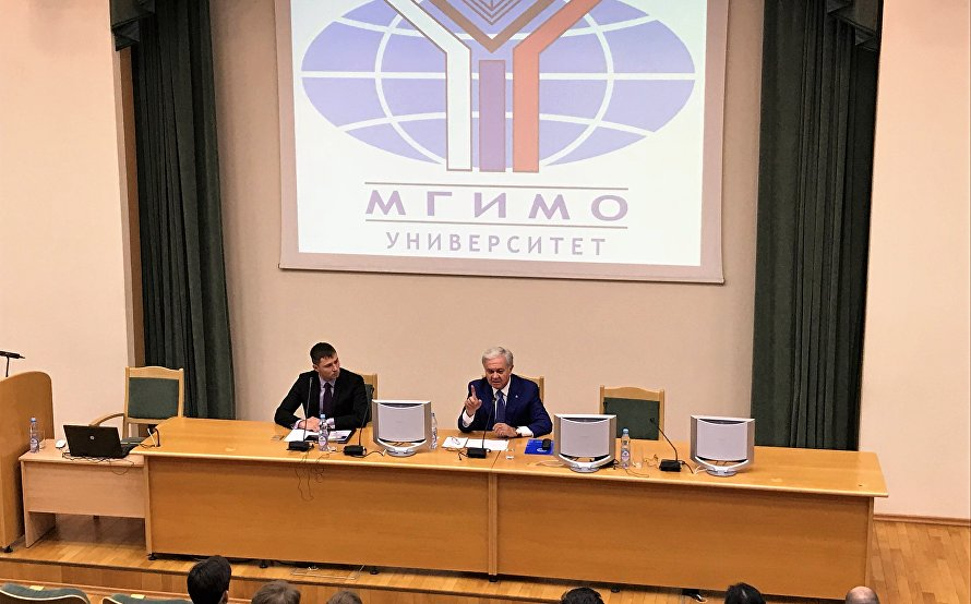 SCO Secretary-General visits MGIMO University