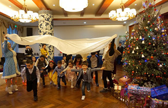 Children's New Year event