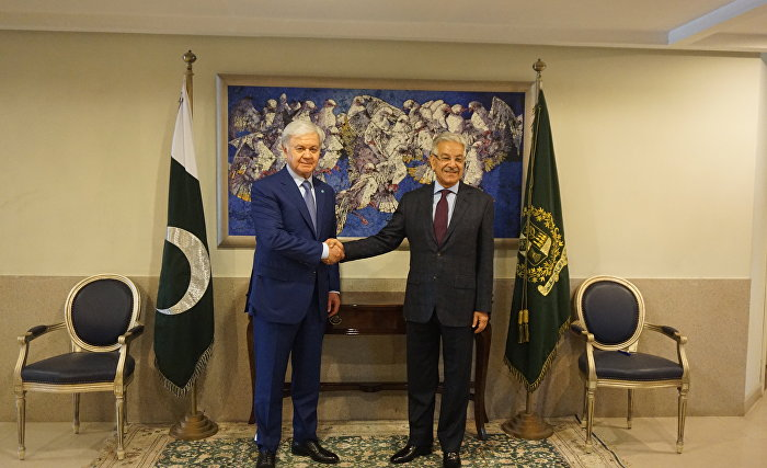 SCO Secretary-General meets with Pakistani Foreign Minister