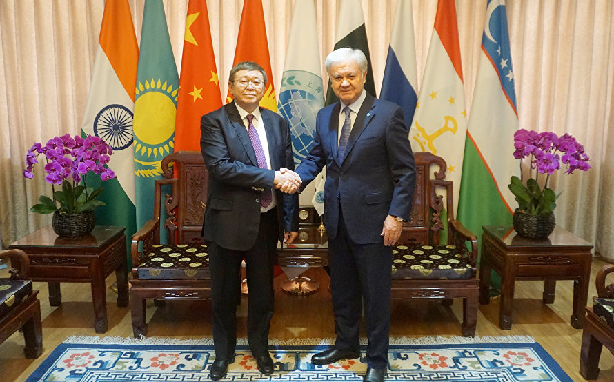 The meeting with Mongolian Ambassador to ChinaР