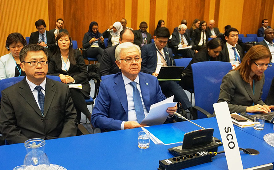 SCO Secretary- General addresses plenary meeting of the 61st session of the UN Commission on Narcotic Drugs