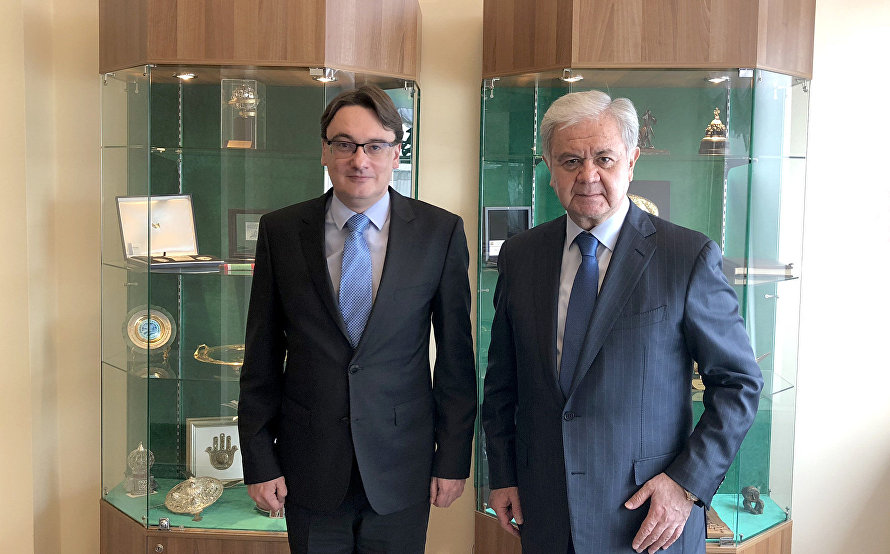 The meeting with Russian Deputy Foreign Minister Yevgeny Ivanov