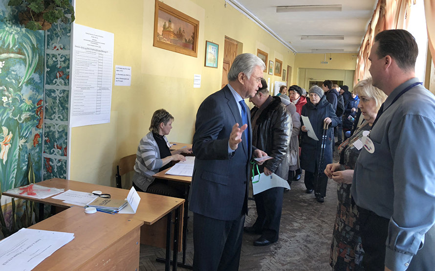 SCO observers summarise Russian presidential election results