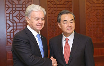 SCO Secretary-General congratulates Wang Yi on his appointment as State Councilor and Foreign Minister of China