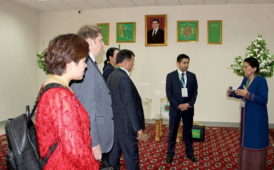 SCO Observers Mission members oversee general election in Turkmenistan