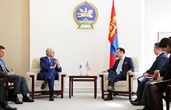 The SCO Secretary-General on an official visit to Ulaanbaatar
