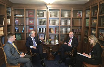 Rashid Alimov meets with UN Under-Secretary-General on the sidelines of MCIS