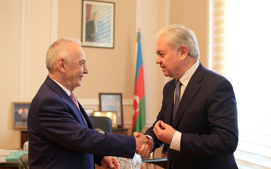SCO Secretary-General meets with Mayor of Baku