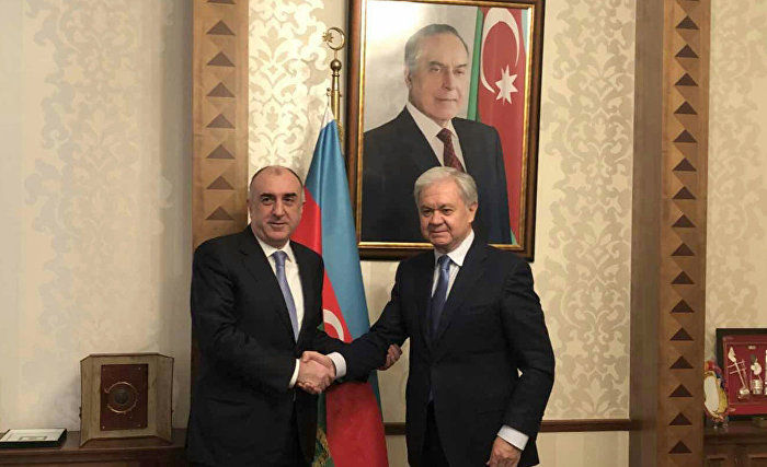 SCO Secretary-General meets with Azerbaijani Foreign Minister
